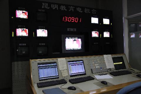 昆明教育电视台演播室设备